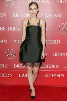 Rooney Mara style file - most stylish fashionable outfits & looks | Glamour UK