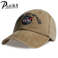 Fashion Heren Baseball Cap Merk NASA I Need My Space Snapback Skateboard Women dad hat Men gorro hip hop planas chapeaux
