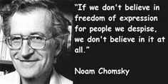 Noam Chomsky quotations and sayings with pictures. Famous and best quotes of Noam Chomsky. Great Quotes, Me Quotes, Freedom Of Religion, Noam Chomsky, Words Worth, Freedom Of Speech, Thats The Way, Education Quotes, Quotable Quotes