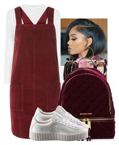 """""""Down 4 You"""" by shawtyhilfiger on Polyvore featuring Dorothy Perkins, MICHAEL Michael Kors and Puma"""