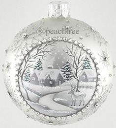 Peachtree Place  Beguiling Orb, Silver and Platinum, Homstead   2015  Exclusive