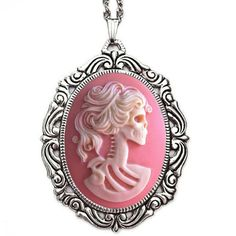 Pink Lolita Rococo Necklace By Couture By Lolita.....so want this!!!