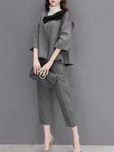 レディースファション ラシャジャケット+パンツ2点セット 12456159 - おしゃれセットアップ - Doresuwe.Com