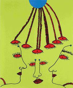 Reflecting in the Field of Love | Yayoi Kusama, Reflecting in the Field of Love (2011)