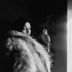 Anjelica Huston, October 1968. Photo by Arnaud de Rosnay.