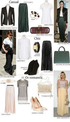 c530e8130bcb8 How to wear maxi skirts Long Skirt Looks