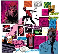 Daredevil #35 by Mark Waid, Chris Samnee and Javier Rodriguez (Brilliant visuals, great run on Daredevil)