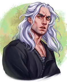 ArtStation - Geralt of Rivia - The Witcher , N/ Ithilnaur The Witcher Novels, The Witcher Series, The Witcher Geralt, Witcher Art, Live Action, Witcher Wallpaper, The Withcer, Foto Portrait, Fanart
