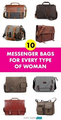90fb6be5df 10 Messenger Bags for Every Type of Woman