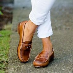 How to wear penny loafers for women