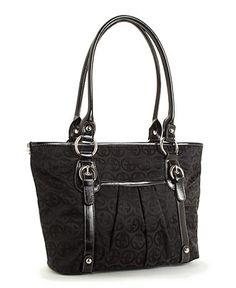 Giani Bernini Handbag, Circle Signature Tulip Tote - Tote Bags - Handbags & Accessories - Macy's