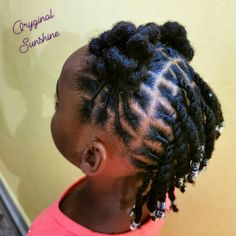 Lil Girl Hairstyles, Dread Hairstyles, Dreadlock Styles, Dreads Styles, Short Dreads, Starter Locs, Salon Style, Baby Style, Naturally Beautiful