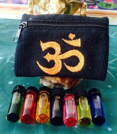 Sacred Chakra Oils Seven Chakra Oils set by TriquetraBoutique