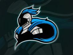 Knight mascot logo