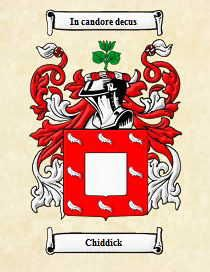 Chiddick Family Coat Of Arms
