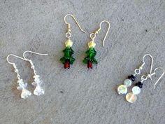 5.00 Christmas earrings