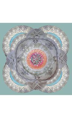 Cosmic Labyrinth Ceramic Tiles - Marie Nouvelle