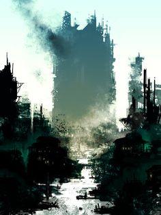 Broken city by *torvenius