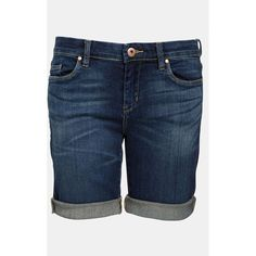 BLANKNYC 'Roll Up' Jean Shorts ($68) ❤ liked on Polyvore