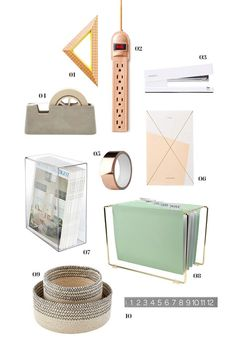 all things pretty : office supplies