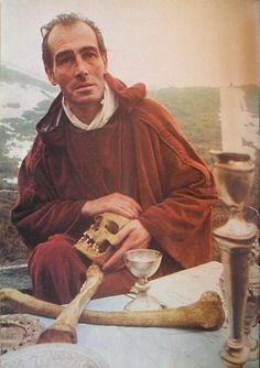 """Alex Sanders/Orrell Alexander Carter/Verbius,  1926-1988. English occultist, founder of Alexandrian Wicca. Self styled """"King of the Witches""""."""