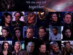 Found on FuckYeah Babylon 5 Best Sci Fi Series, Tv Series, Shadows Fall, Babylon 5, Stargate Atlantis, Story Arc, January 26, Great Quotes, Outlander