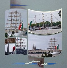 Bateau mexicain  a l arrivee dansle port de bordeaux.....par eolia eolia .....