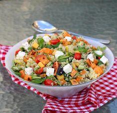 Mango, Comfort Food, Guacamole, Cobb Salad, Pesto, Quinoa, Nom Nom, Salsa, Ethnic Recipes