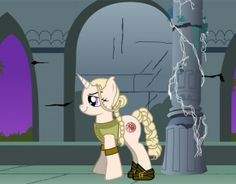 Daenerys Targaryen as a My Little Pony