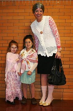 100th day is just around the corner!  @Julie Porter, @Courtney Ewertt, and @Marti Dougherty ... dress like you're 100 years old for the 100th day of school.