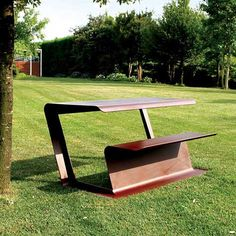 Merenda Bench / Table - Artform Urban #artformurban #streetfurniture