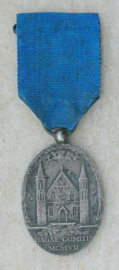 The Hague peace conference medal