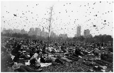 Garry Winogrand, Peace Demonstration, Central Park, New York, c.1970