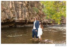Grecian Inspired River Bend wedding in Lyons, Colorado | Tara Keely dress from Blue Bridal Boutique | Tux from Teds Clothiers | Florals by @EmmaLeaFloral | Jewelry from @shanecompany | Hair & Makeup by @lovelulu143 | Coordinator @Purple Summer Events | www.jessidalton.com
