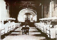 Cagliari, antico Ospedale di S.Antonio, sito in Via La Costa, quartiere Marina funzionò sino al 1858, anno in cui entrò in funzione il nuovo complesso del Cima.
