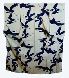 きものさらさ5月催事 鷺の夏着物   kimono sarasa