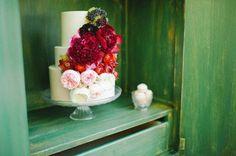 17 propostas de bolos de casamento românticos! Image: 7
