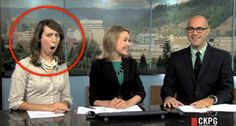 Let's face it– there is nothing more satisfying that watching a newscaster lose it. Enjoy these clips from the past year.