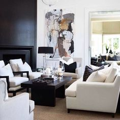 Here are some doable living room decor and interior design tips that will make your home cozy and comfortable for family and friends. Home Living Room, Interior Design Living Room, Living Room Designs, Living Room Decor, Interior Exterior, Decor Interior Design, Interior Decorating, Decorating Ideas, Elegant Home Decor