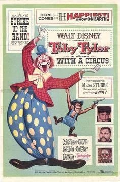 Toby Tyler Disney Movie Poster