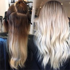 COLOR CORRECTION: Multiple Bands to Desired Blonde - Hair Color - Modern Salon