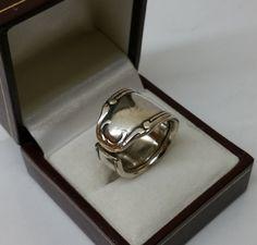 176 mm Besteckschmuck Silberbesteck Ring von BesteckschmuckBaron