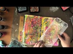 Art Journaling Mixed Media: She Art - YouTube