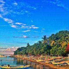 Pantai Lovina in Kecamatan Buleleng, Bali
