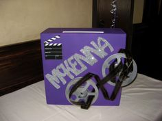 Hollywood Gift Box by www.idealpartydecorators.com