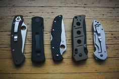 Knife Drop: Thomas' Favourite Knives