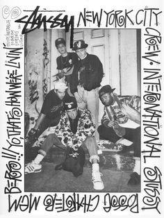 Stussy NYC posse. 1988