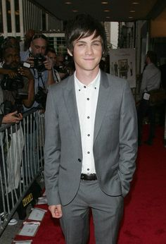 Logan Lerman Suit