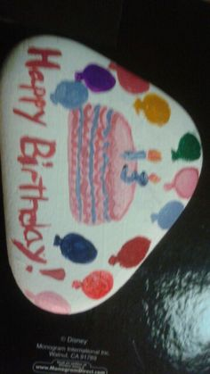 Happy birthday rock