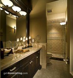 Baño, baños, fotografías de baños, fotografías de diseño de interiores, fotografías de diseño de interiores de hogares - getdecorating.com ::